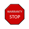 NEW Warranty Stop Page