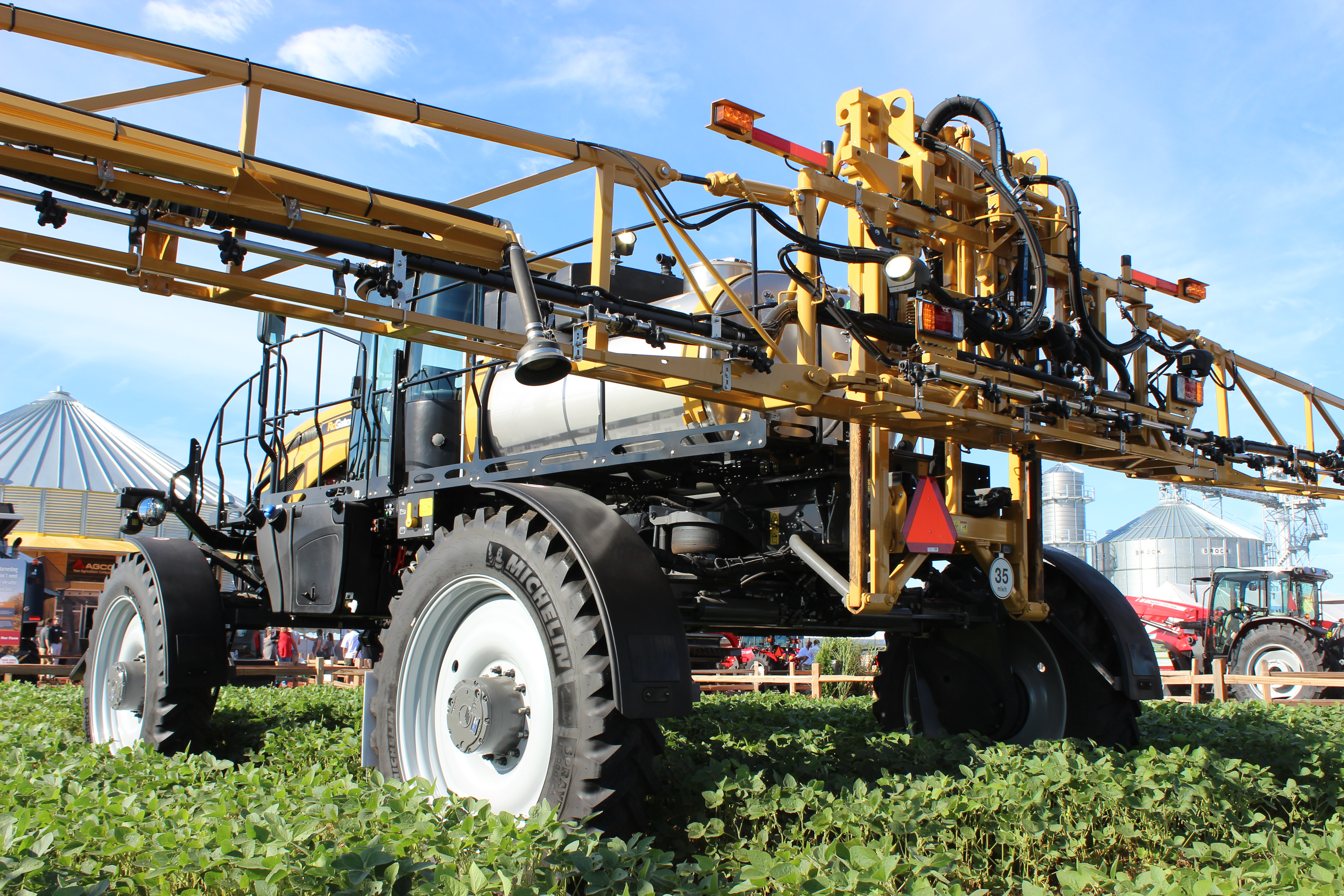 Improve Ride & Reduce Road Lope on Sprayers: Tire Manufacturer's ANSWER