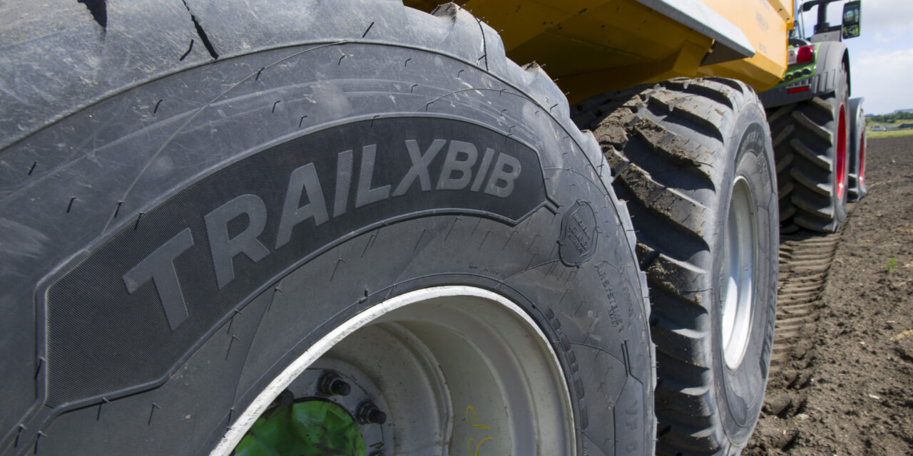 Michelin Introduces New Agricultural Trailer Tire